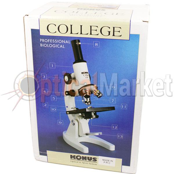 Школьный микроскоп Konus College