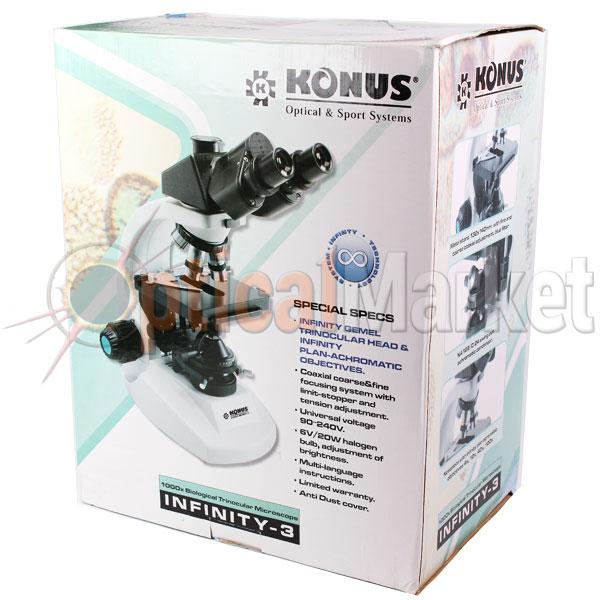 Купить микроскоп Konus Infinity-3 в Киеве, Харькове