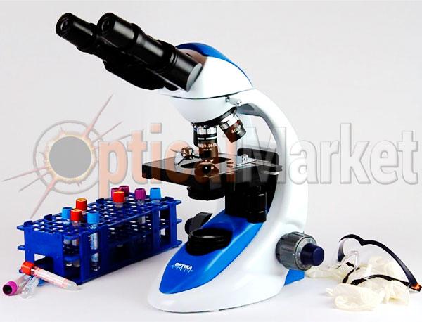Лабораторный микроскоп Optika B-192PLi 40x-1600x Bino Infinity