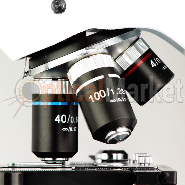 Купить микроскоп Optika B-192PLi 40x-1600x Bino Infinity в Киеве, Харькове