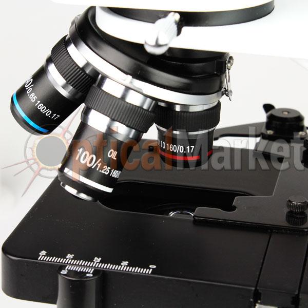 Световой микроскоп Optika B-155R 40x-1000x Mono rechargeable
