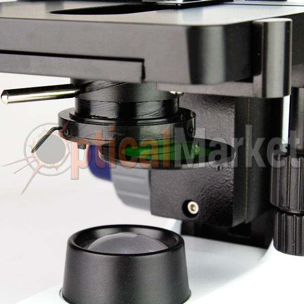 Купить микроскоп Optika B-155R 40x-1000x Mono rechargeable Киев, Харьков