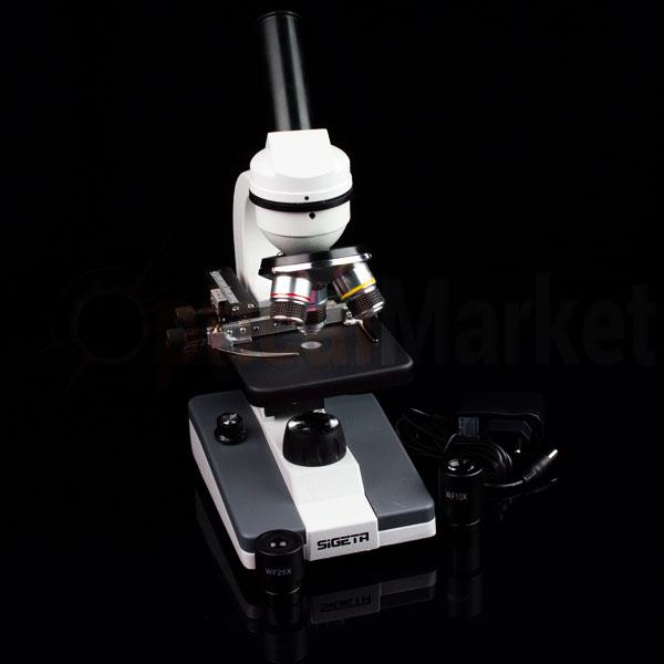 купить микроскоп Sigeta MB-120 40x-1000x LED Mono