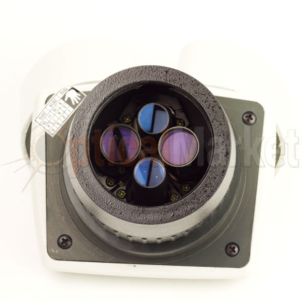 об'єктиви стереомікроскопа