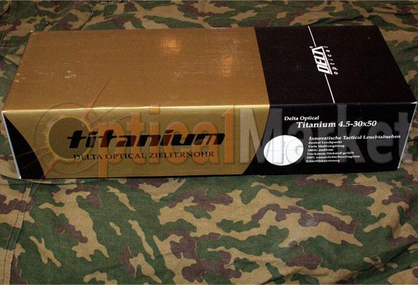 Купить прицел Delta Optical Titanium 4.5-30x50 SF MCZ в Киеве, Харькове