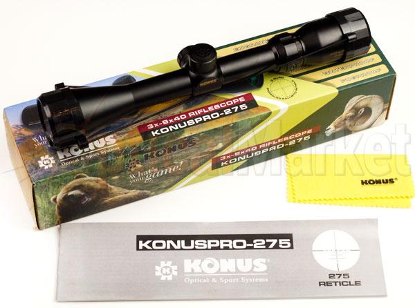 Купить прицел Konus KonusPro 275 3-9x40 Киев, Харьков