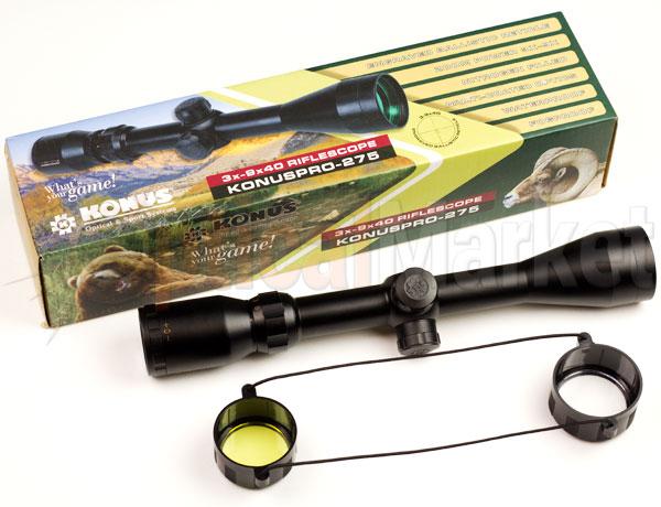 Прицел Konus KonusPro 275 3-9x40 на огнестрел
