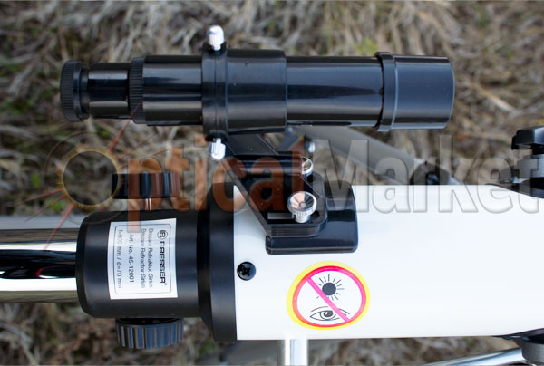 Детский телескоп Bresser Sirius 70/900